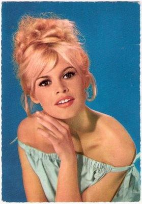 Vintage image of Brigitte B.