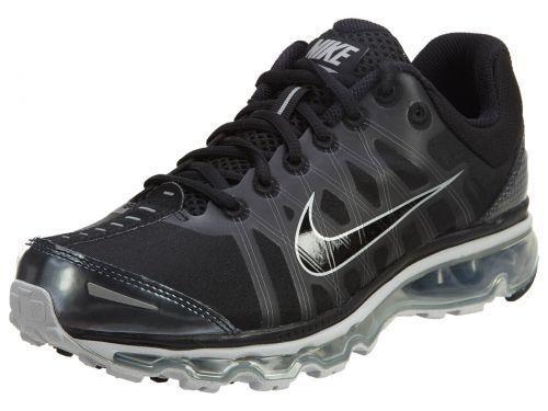 Nike Mens Air Max 2009 Athletic Shoes Black/Grey 486978-010
