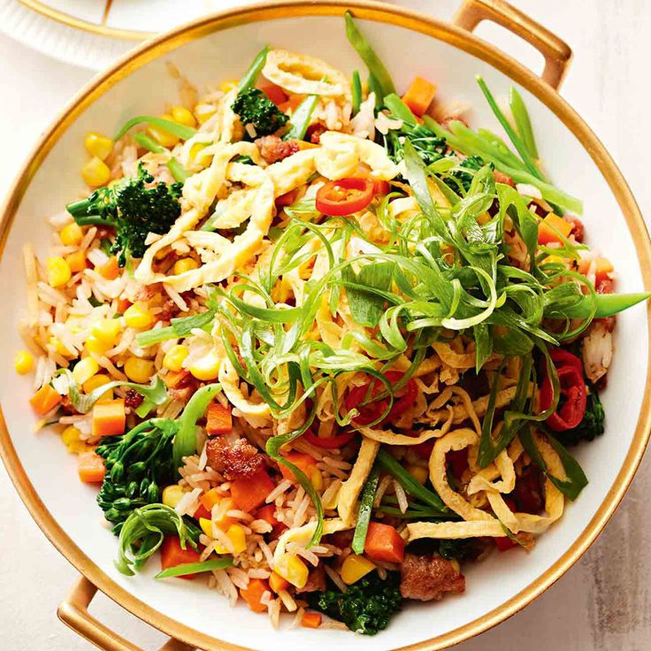 How to make Jewelled Fried Rice with Pork