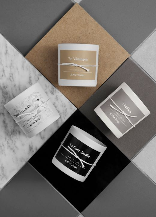 & Other Stories Scented Candle Collection
