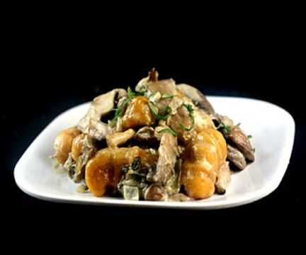 pumpkin gnocchi sweet potato gnocchi mashed sweet potatoes creamy ...