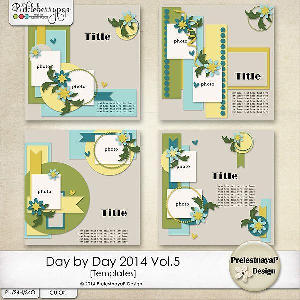 Day by Day 2014 Vol.5 Templates by PrelestnayaP Design
