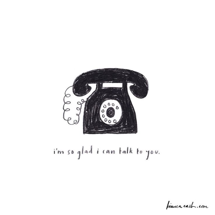 bianca cash, phone, drawing, telephone, i like to talk to you, greeting card, illustration