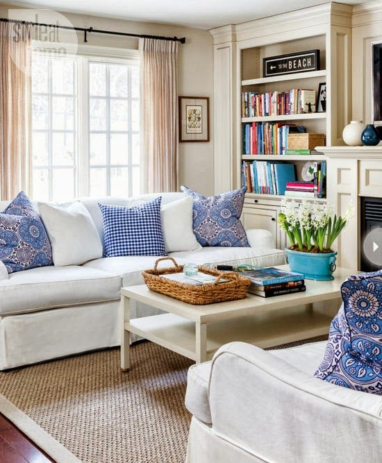 Casual Family Room Decorating Ideas Part - 16: Home Tour- A Laid-back Cottage-style Home In Oshawa, Ontario!