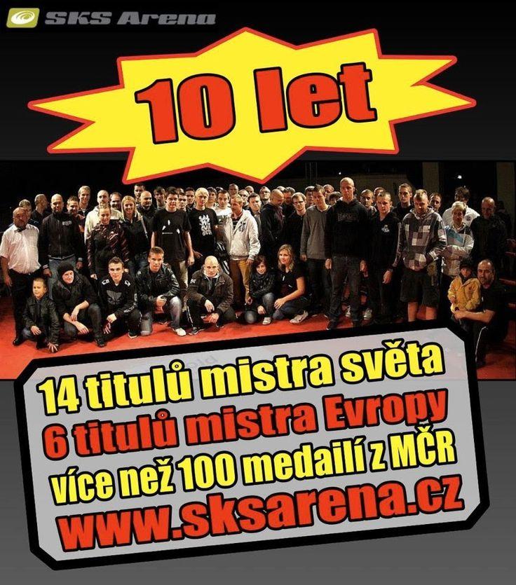 10 let SKS Arena Kladno - oslava v Barnu )