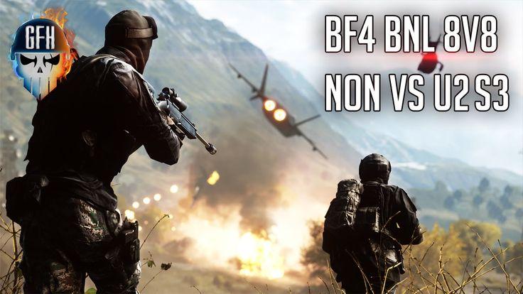 Battlefield 4 Clan War - BNL 8V8 CQ Small S3 Vs U2 Match Highlights