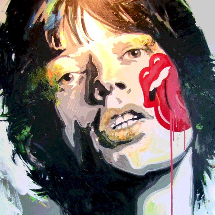 Simplemente Admiración por Mick Jagger. Felices 70 y que sean muchos más disfrutando de todo su legado