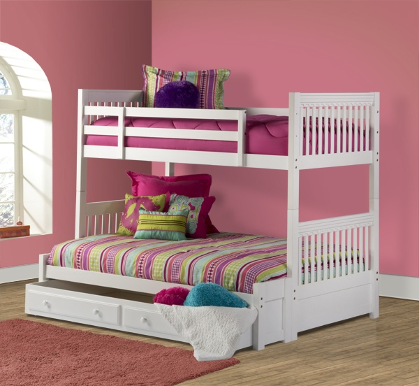 Lauren Twin/Full Bunk with Storage - Perfect for the growing family