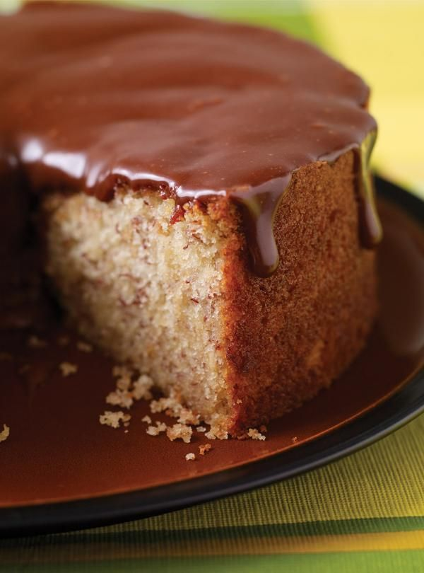 Recette de Ricardo : Gâteau aux bananes, glaçage à la barre Mars