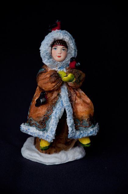 «Друзья прилетели» Проект новогодних кукол и игрушек «ЗИМНИЕ ЗАБАВЫ» Елена Мисюна и Елена Золотова