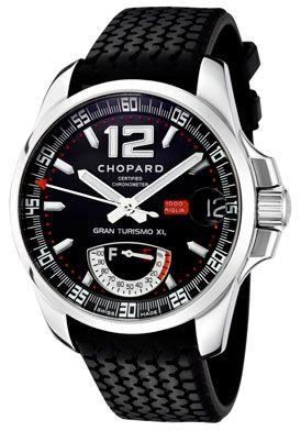 Chopard Men's Mille Milgia Gran Turismo XL Automatic Black Dial Black Rubber Limited Edition
