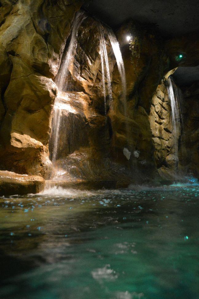 Een lagune is een soort meer dat door de zee wordt afgesloten door bijvoorbeeld rotsen. Hierdoor ervaar je een uniek en magisch gevoel. Bij de Laguna van Elysium wordt dit gevoel nog mooier door de grote watervallen.
