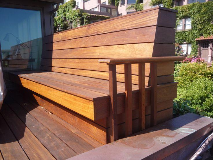 deck bench 2