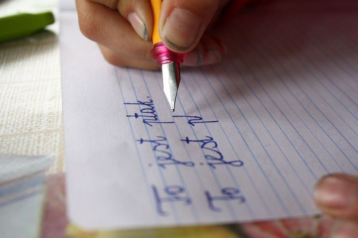 Ładny charakter pisma to tylko wartość dodana. Ręczne pisanie, najlepiej piórem…