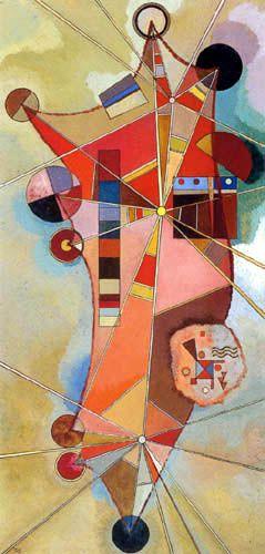 Wassily Kandinsky - 'Fixierte Punkte'                                                                                                                                                                                 Mehr