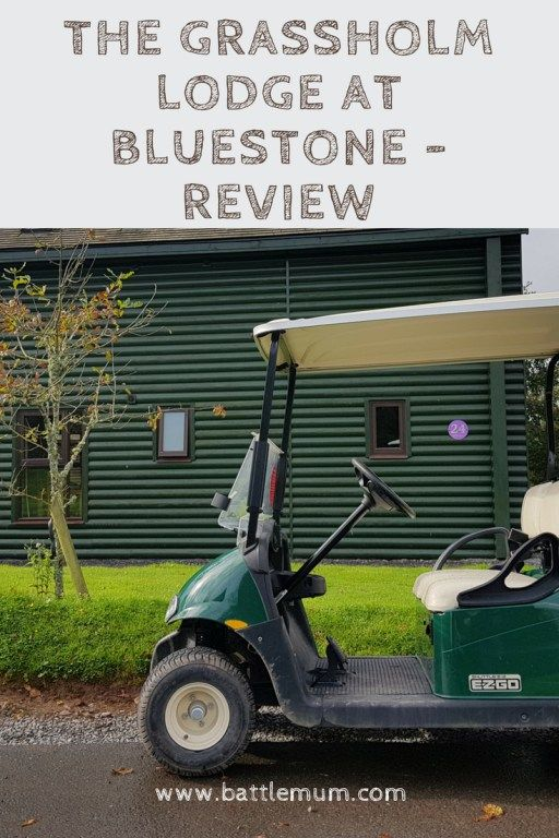 Grassholm lodge at Bluestone - Review and our thoughts
