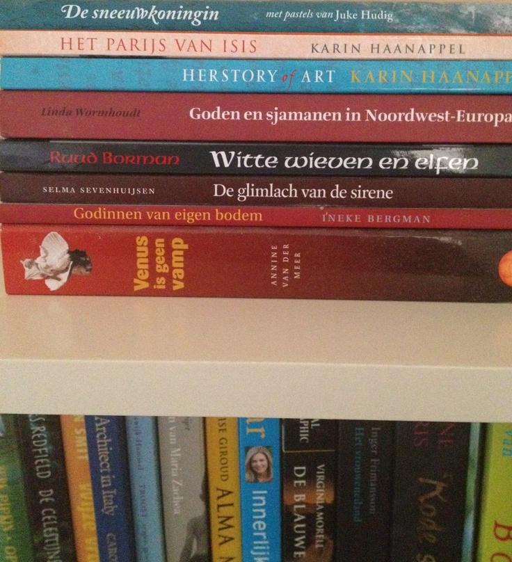 In de boekenkast van Annemarie Haanappel