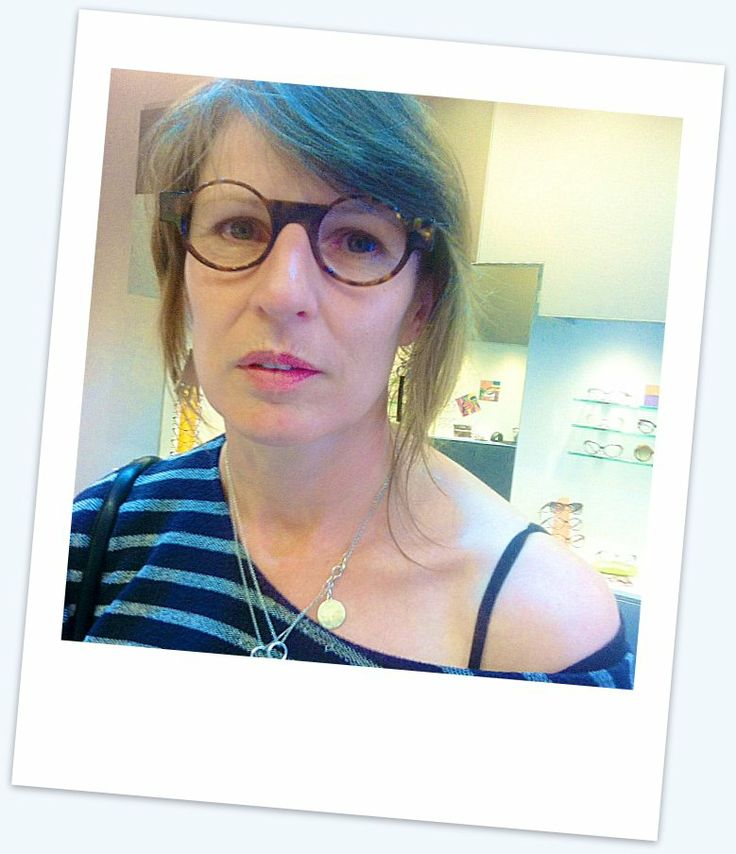 The beautiful Josephine Cachemaille with the dramatic #MichelHenau #Odorono.   Check out Josephines amazing creations @ http://www.sanderson.co.nz/Artist/135/Josephine-Cachemaille.aspx  #Kuske #Eyewear #Nelson