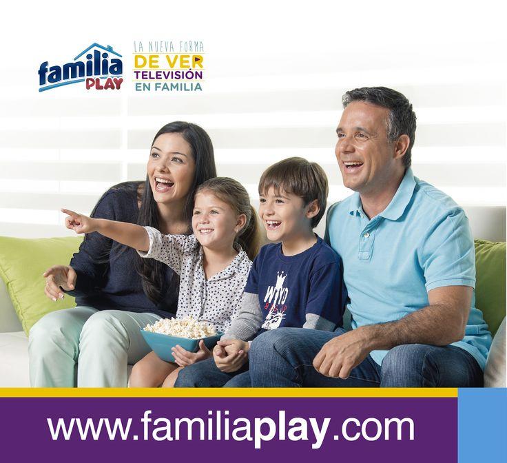¡Diviértete en familia disfrutando de series y películas totalmente gratis! ingresa desde tu computador, smartphone, tableta o Smart TV a www.familiaplay.com y descubre todo lo que Familia® trae para ti.