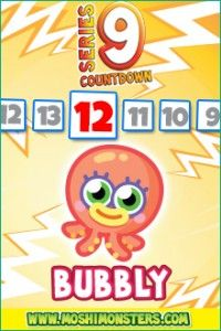 NEW! Bubbly @moshimonsters Series 9
