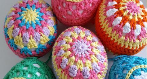65 besten Ostern Bilder auf Pinterest | Häkeldecken, Häkelideen und ...