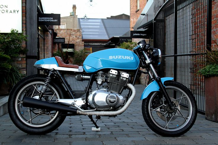 Max Betteridge design Suzuki GSX cafe racer motorcycle custom