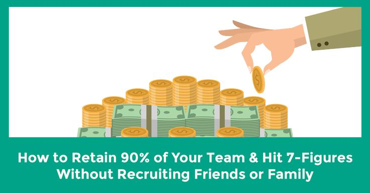 Saying you can retain ninety percent of your team is a BOLD statement.Saying you can retain 90% of a team built without recruiting anyone you know, during your first year in network marketing...is downright outrageous.
