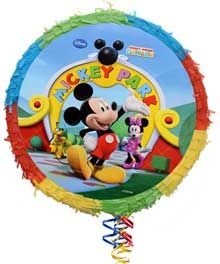 Need a smashing hit for your next party? A piñata is the perfect activity!   And in case you didn't know, piñatas can be filled with anything small and unbreakable, so they aren't just for kids! πινιατα, mickey park