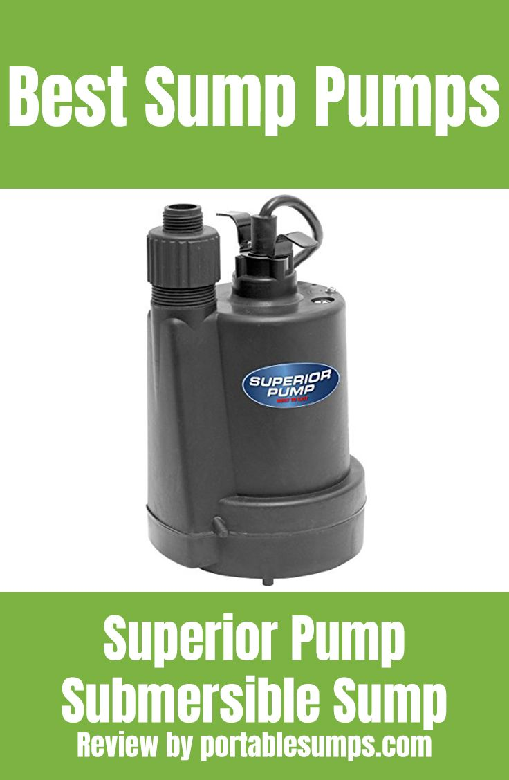 Top Rated Sump Pumps