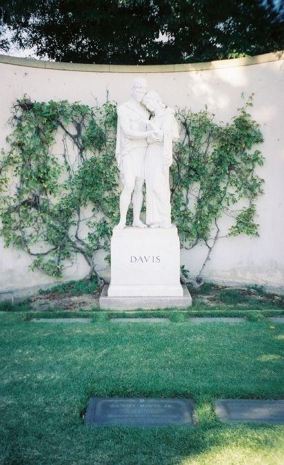 Sammy Davis, Jr. | Singer, Dancer, Entertainer | Birth: December 8, 1925 | Death: May 16, 1990 | Cause of Death: Cancer of the Larynx | Burial: Forest Lawn Memorial Park, Glendale, California | Plot: Garden of Honor