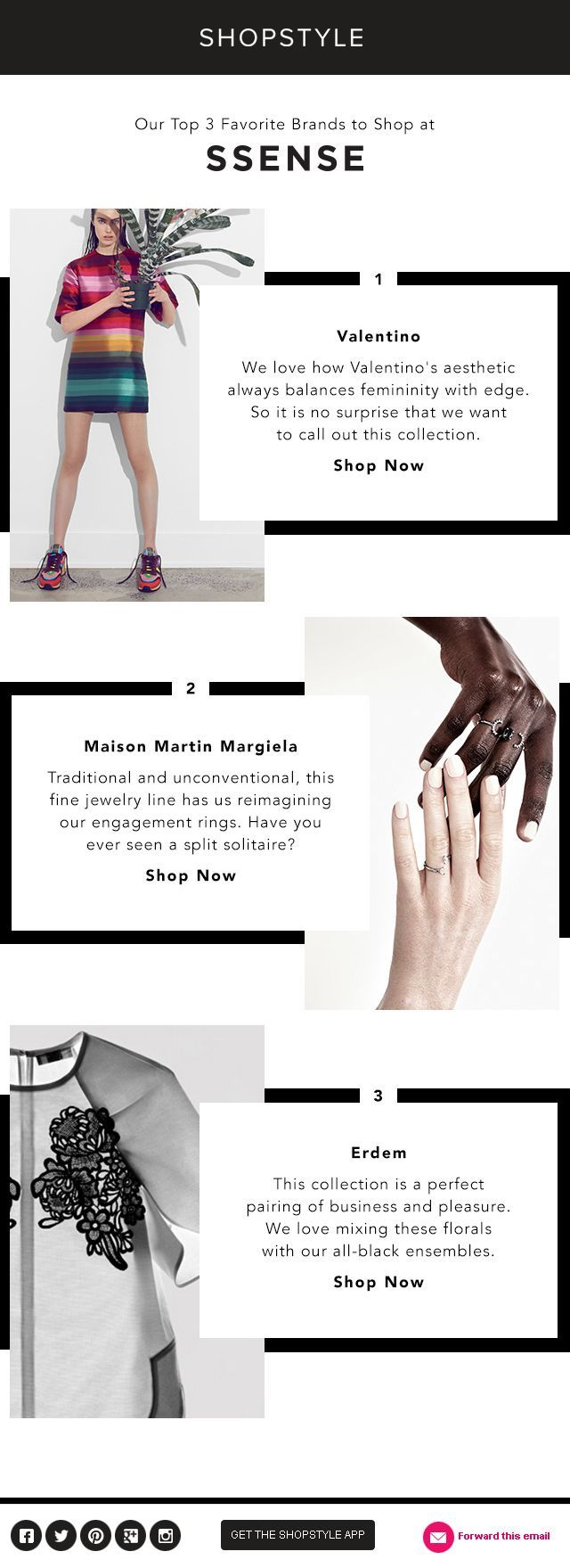 ShopStyle: Introducing 3 Inspired Designer Collections Everybody with a business needs to have marketing platform that would provide a website, with lead capture up to 10K leads, sales funnels, play videos, and work on PC, Tablet and notepad for less than US$50.00 monthly fee. Join us for the FREE webinar about building your marketing platform.  Click on the link. http://brdcst.me/signup/?w=1950