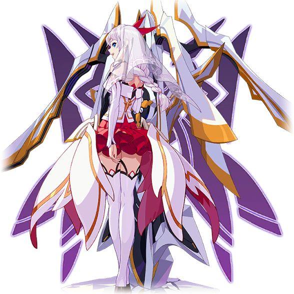 Anime Characters 153 Cm : Kallen gratia t 崩壊 rd houkai 崩坏 benghuai