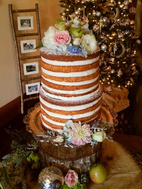 Cake Designs Montgomery : Naked cake by Jennie Weller Catering at the Young House in ...