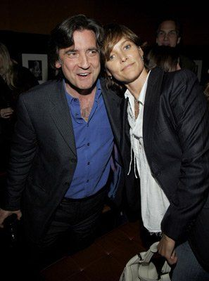 Carey Lowell with her former husband Griffin Dunne
