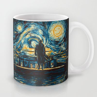Starry Fall (Sherlock) Mug by Girardin27 https://www.pinterest.com/lahana/mugs-cups-and-drinkware/