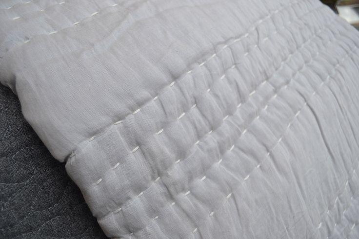 Jay Street Block Print Co | Shanti Quilts | Natural Bed