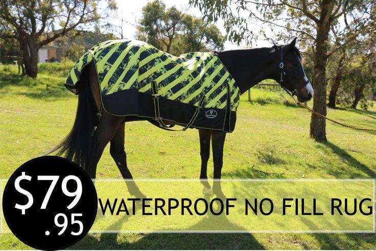 Extreme Lite Waterproof Horse Rug Cooler Mesh Lined