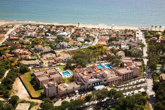 Vista aérea Vincci Selección Estrella del Mar 5* (Marbella)