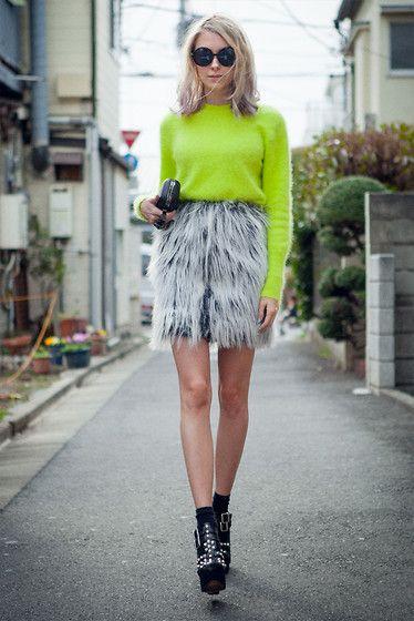 Tokyo Fashion Week Soldier. (by Martina M.) http://lookbook.nu/look/4698603-Tokyo-Fashion-Week-Soldier
