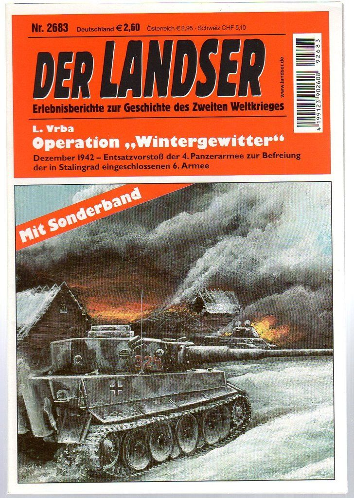 "der landser Der Landser Nr. 2683 - Operation ""Wintergewitter"" 16"