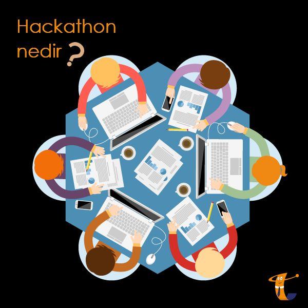 #Hackathon nedir?  Hackathon, genellikle 24-48 saat arasında süren, bilgisayar mühendisleri, grafik, arayüz tasarımcılarının bir araya gelerek ortalama 24-48 saat içerisinde yazılım geliştirdikleri bir kod yazma maratonudur. Bir Hackathon'da amaç, bir yazılım projesindeki herkesi sınırlı bir zamanda bir araya toplayarak başarıya ulaşacak yazılımı geliştirmektir.  Yazının Devamı İçin; http://on.fb.me/1O221aQ