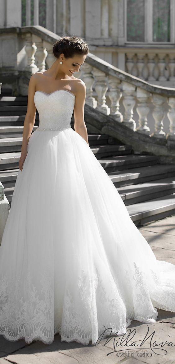 Featured Wedding Dress: Milla Nova;www.millanova.com; Wedding dress idea.