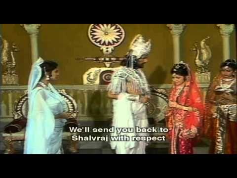 Mahabharata Eps-05 with English Subtitles (Amba, Ambika and Ambalika) - YouTube