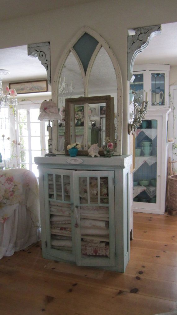 shabby chic frame victorian shabby chic by whitecottageinhills, $55.00, love the cabinet