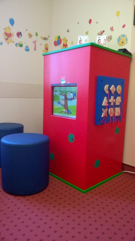 Interaktywna rozrywka dla dzieci w gabinecie dentystycznym