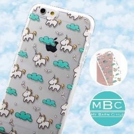 CLEARANCE! Phone Case: Unicorn/Clouds ~ iPhone 5/5s