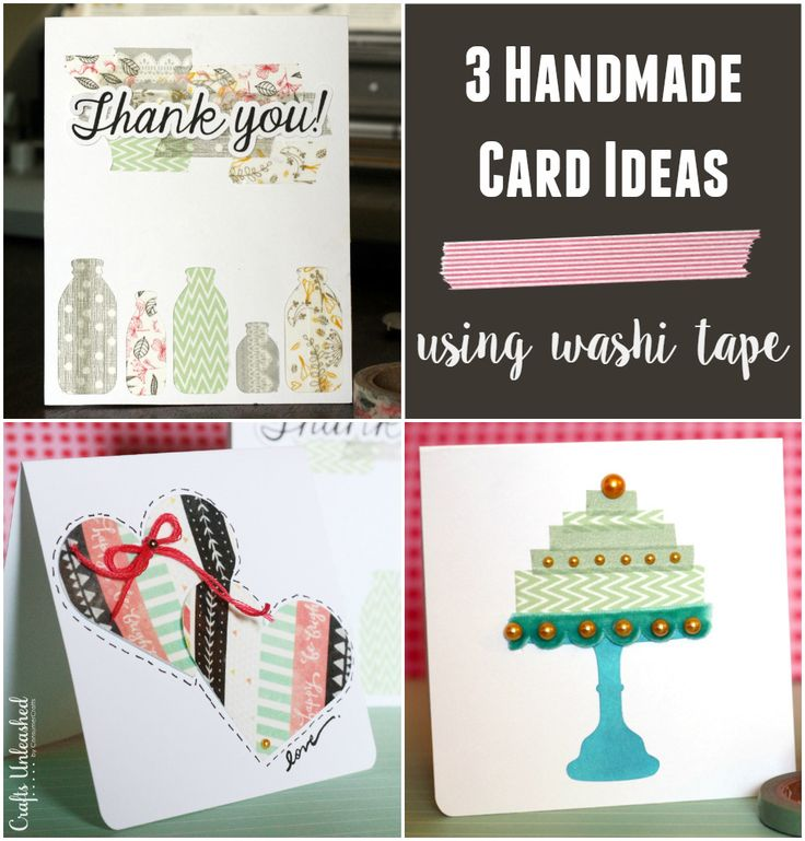 Handmade Card Ideas 3 Washi