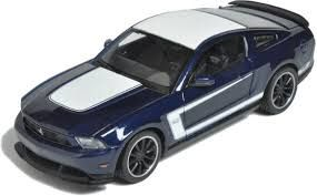 Maisto Special Edition - Ford Mustang Boss 302 Model Car 1:24 - Dark Blue (31269)  Manufacturer: Maisto Enarxis Code: 018125 #toys #Maisto #miniature #cars #Ford #Mustang #Boss