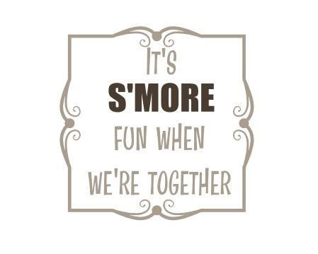 Who else is a smores fanatic? Let me know @nick_conntekisi. #smores #yum #camping #quote