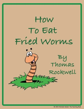 how to eat fried worms time